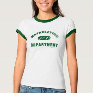 Matheletics Department T-shirt