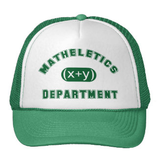 Matheletics Department Trucker Hat