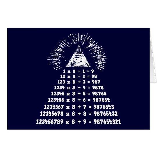 Mathemagic Card