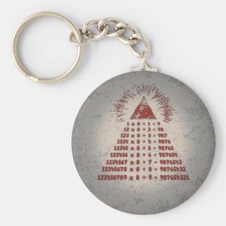 Mathemagic Keychain
