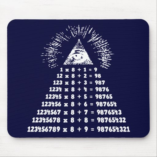 Mathemagic Mouse Pad