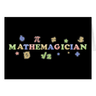 Mathemagician Card