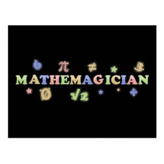Mathemagician Postcard