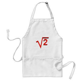 mathematic adult apron