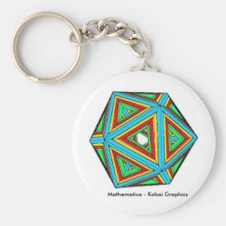 Mathematica - Kabai Graphics Key Chain