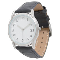 Mathematical Constants Wristwatch