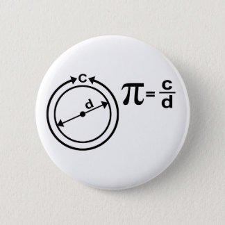 Mathematical Definition of Pi Button