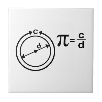 Mathematical Definition of Pi Tile