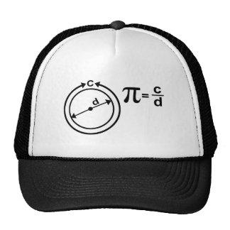 Mathematical Definition of Pi Trucker Hat