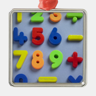 Mathematical magnets metal ornament