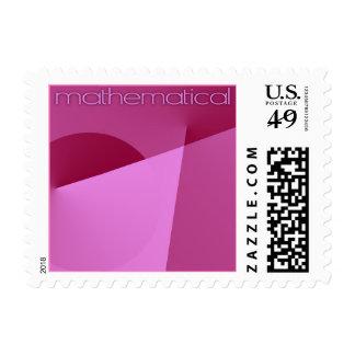 mathematical postage