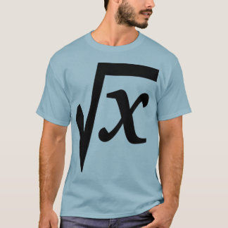 Mathematical Square Root  T-Shirt