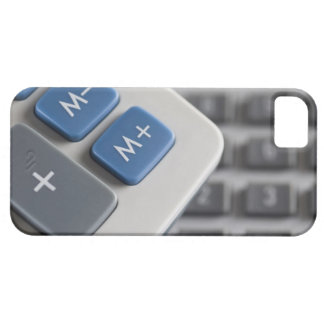 Mathematical symbols on a calculator and a iPhone 5 covers