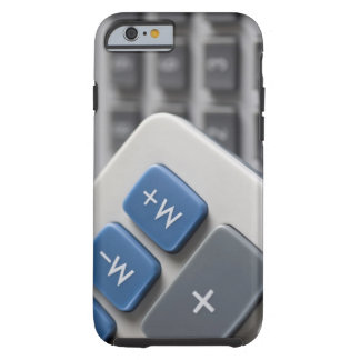 Mathematical symbols on a calculator and a tough iPhone 6 case