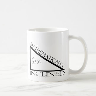 Mathematically Inclined Classic White Coffee Mug