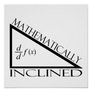 Mathematically Inclined Poster