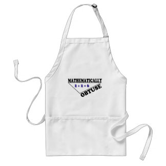 Mathematically Obtuse Adult Apron