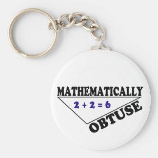 Mathematically Obtuse Keychain