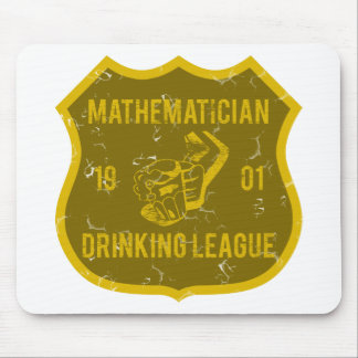 Mathematician Drinking League Mouse Pads