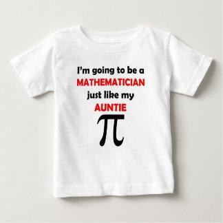 Mathematician Like My Auntie Baby T-Shirt