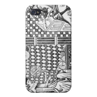 Mathematician Monks: one teaching the Globe iPhone 4 Case