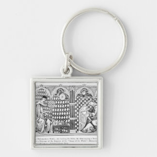 Mathematician Monks: one teaching the Globe Keychain