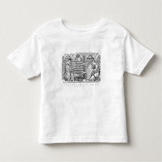 Mathematician Monks: one teaching the Globe Shirt