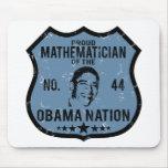 Mathematician Obama Nation Mouse Mat