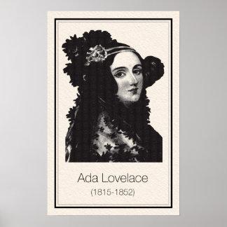 Mathematicians - Ada Lovelace Poster