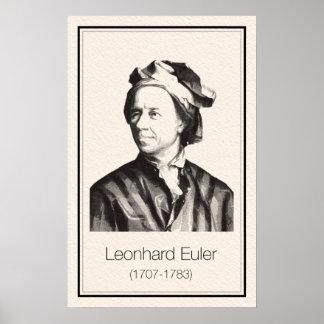 Mathematicians - Euler Poster