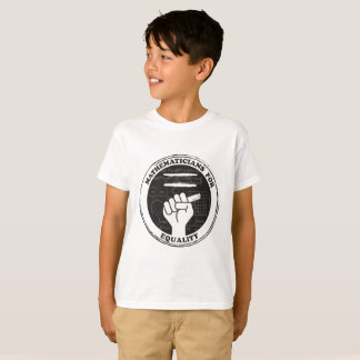 Mathematicians for Equality T-shirt