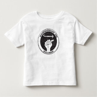 Mathematicians for Inclusion T-shirt - Toddler