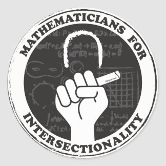 Mathematicians for Intersectionality stickers