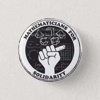Mathematicians for Solidarity Button