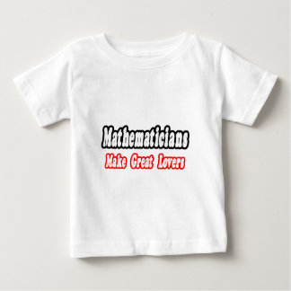 Mathematicians Make Great Lovers Baby T-Shirt