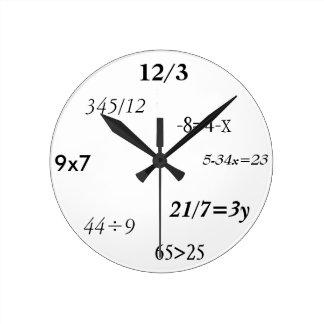 Mathematician's Round Clock