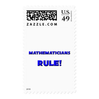 Mathematicians Rule! Stamps
