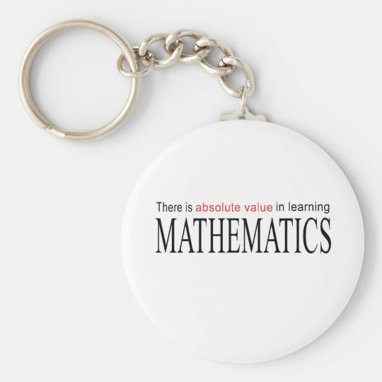 Mathematics _ absolute value in learning keychain
