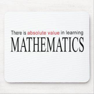 Mathematics _ absolute value in learning mouse pad