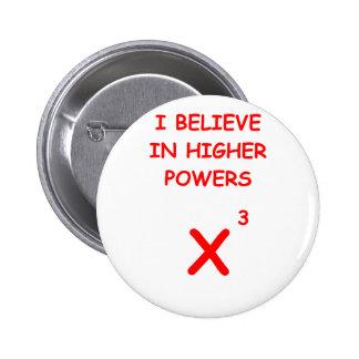 mathematics button