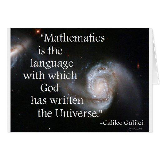 Mathematics Card
