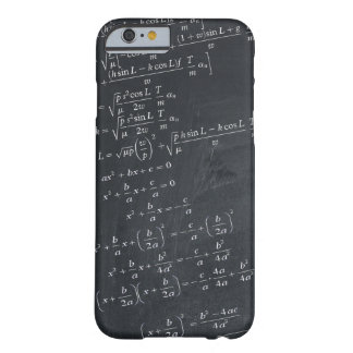 Mathematics formula barely there iPhone 6 case