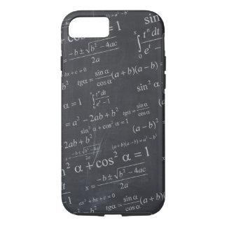 Mathematics Formulas on Chalkboard - Funny & Cool iPhone 8/7 Case