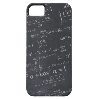 Mathematics Formulas on Chalkboard - Funny & Cool iPhone SE/5/5s Case