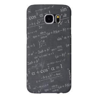 Mathematics Formulas on Chalkboard - Funny Unique Samsung Galaxy S6 Case