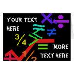 Mathematics Greeting Card