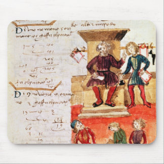 Mathematics Lesson, from a mathematical treatise Mouse Pad