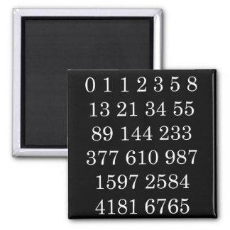 Mathematics Magnet Fibonacci Sequence Numbers