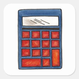 Mathematics Math Nerd School Calculator Stickers