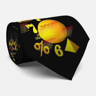 Mathematics Neck Tie